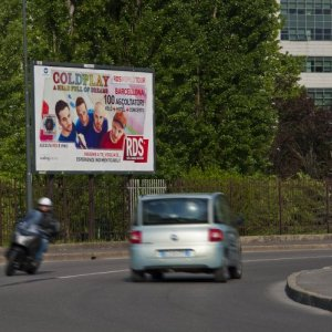 IGPDecaux advertising poster in Milan for RDS