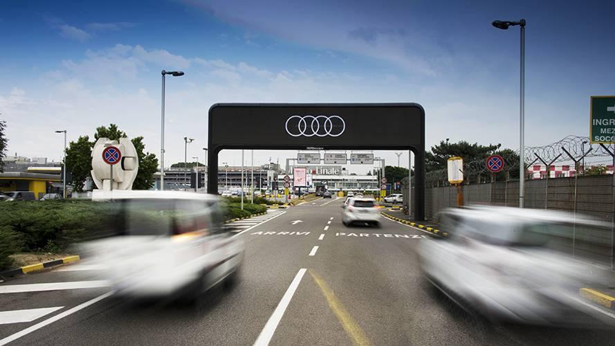 IGPDecaux Digital Out of Home Portale Digitale Linate per Audi