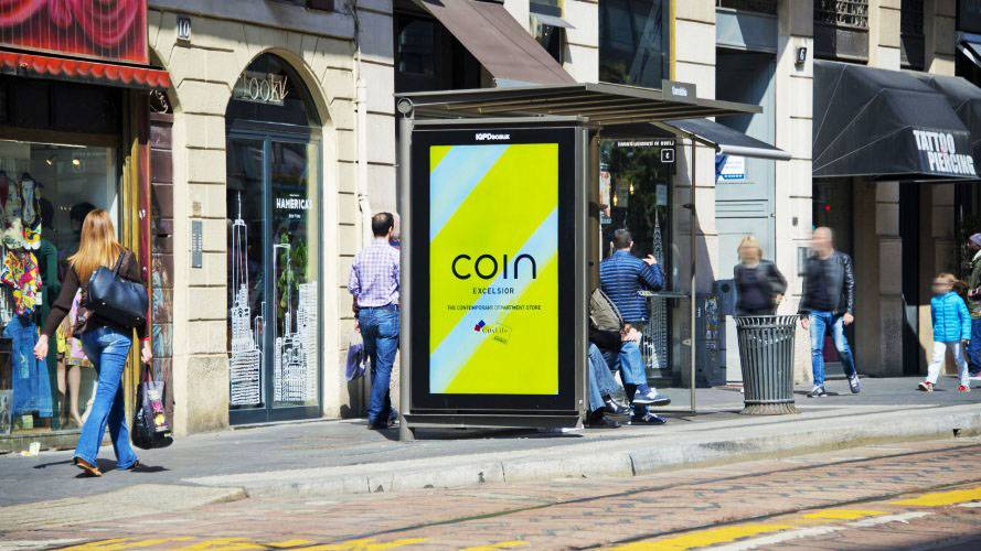 Digital Out Of Home Milano Network Vision IGPDecaux per Coin