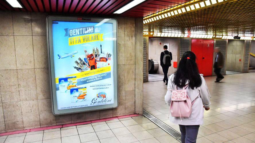 IGPDecaux Milano circuito a copertura portrait per Gentilini