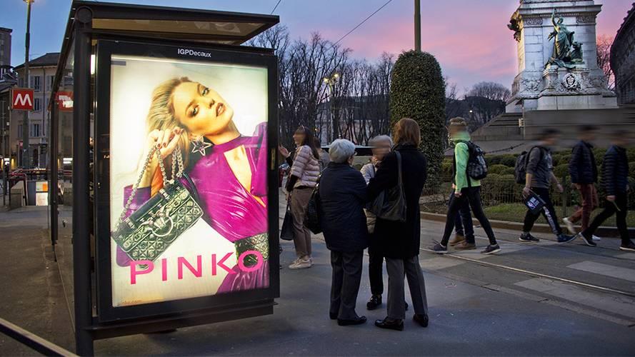 IGPDecaux Milano Pensiline per Pinko