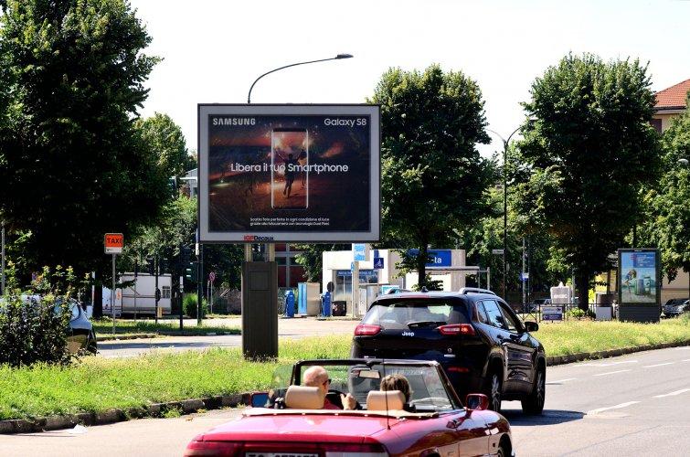 Affissioni Torino IGPDecaux Senior per Samsung