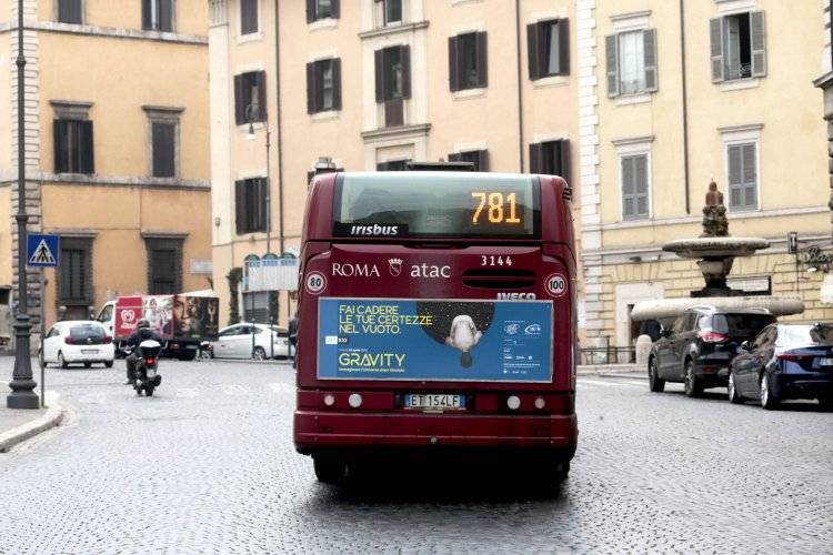 Out of home advertising IGPDecaux Panel 120 200x70 in Rome for Museo Maxxi